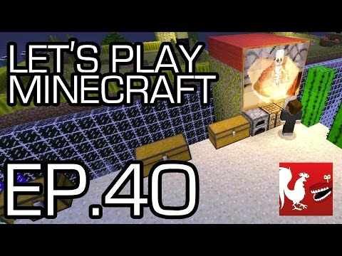 Let's Play Minecraft Episode 40 - Dig Down Part 2