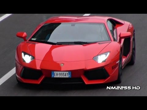 Lamborghini Aventador LP700 Full Throttle Acceleration and Downshifts!