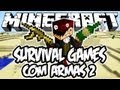 Survival Games com Armas 2 - No Deserto: Minecraft