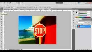 How To Use The Polygonal Lasso Tool In Photoshop CS5.mp4