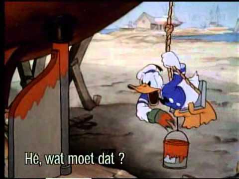 PELICULA DIBUJOS ANIMADOS   Los Constructores De Barcos   1 938   Mickey Mouse, Pato Donald, Goofy