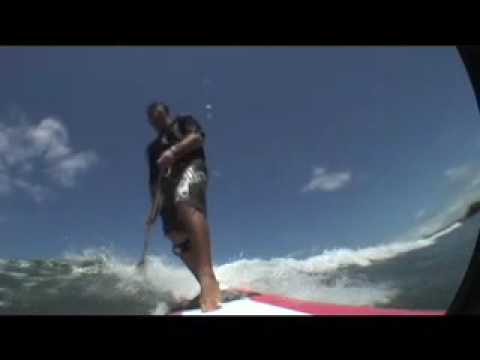 SUP Stand Up Paddle Surfing- Maui Hawaii