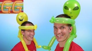 Youtube Arco Y Flecha Con Globos Globoflexia Facil Figuras Con - Figuras-con-globos-faciles