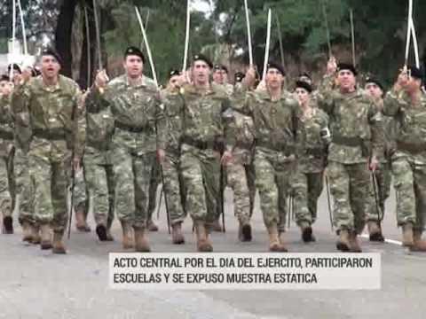 Desfile y muestra estática por el Día del Ejército Argentino