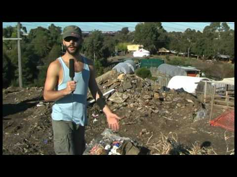 Earthships, Chookships and retaining walls - CERES Earthships Australia
