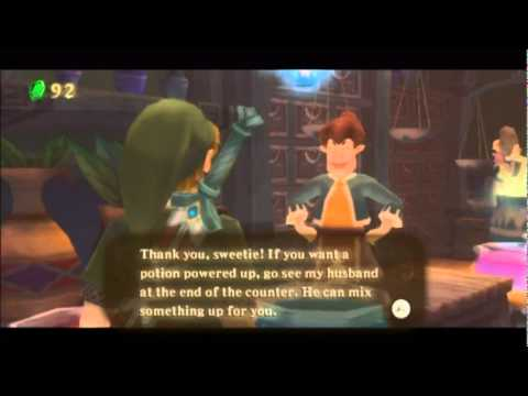 TLoZ Skyward Sword Part 5: Progress? What's That?