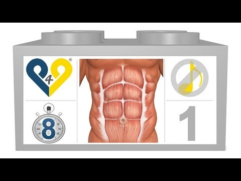 8 Min Home Abs Workout (Level 1, No Music)