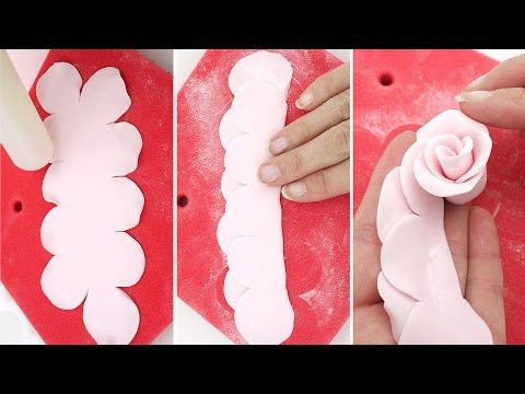 Как сделать розы из мастики для торта в домашних условиях