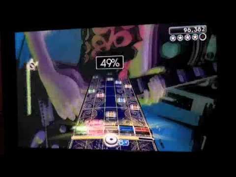 Satch Boogie 100% FC 1st ever Joe Satriani - Rock Band 2