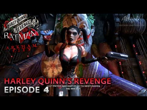 Batman: Arkham City - Harley Quinn's Revenge DLC - Walkthrough (Part 4) -U1IVOj5PKsk