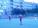 Handball match at school 1