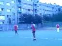 Handball match at school 1