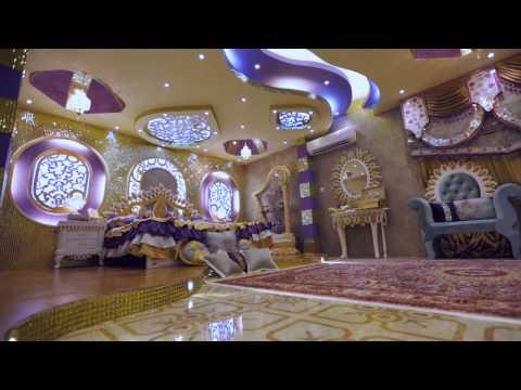 شاهد بالفيديو : غرفة عريس عماني اقرب الى الخيال .. روعة