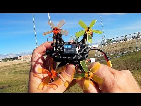 XF100 Punchy Brushless Micro FPV Racer Drone Flight Test Review - UC90A4JdsSoFm1Okfu0DHTuQ