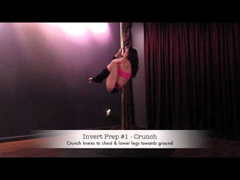 Intermediate pole fitness strengthening exercises