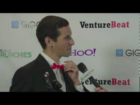 Makerbot, Backstage Interview | TechCrunch 2012 Crunchies - default