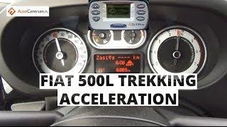 Fiat 500L Trekking 1.6 MultiJet II 105 KM - acceleration 0-100 km/h
