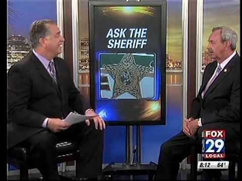 Sheriff Ric Bradshaw answers your questions on the Fox29 news segment.