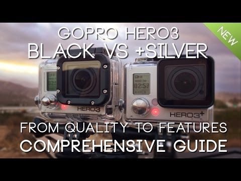 SIDE by SIDE GoPro HERO3 BLACK vs HERO3+ SILVER : gopro hero 3 silver low light - azcodes.com