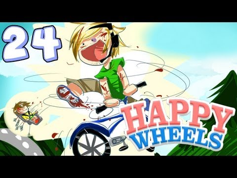 AINT NO PARTY LIKE A PEWDIEPIE PARTY! - Happy Wheels - Part 24