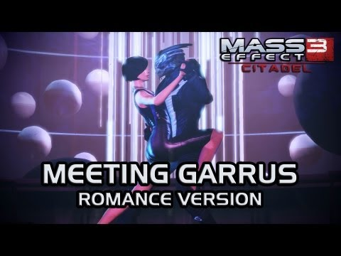 Mass Effect 3 Citadel DLC: Meeting Garrus (Romance, version 2)