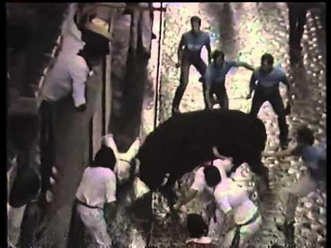 Encierro San Fermin Pamplona del día 12 7 1986