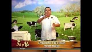 Aprenda a preparar yogurt casero