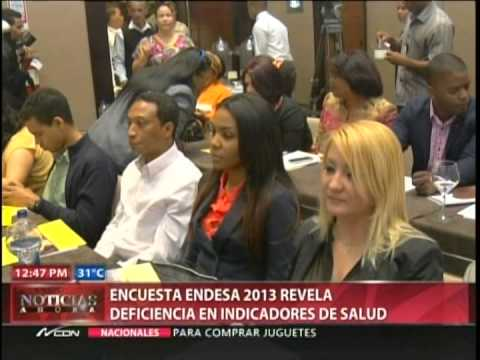 Encuesta ENDESA 2013 revela deficiencia en indicadores…
