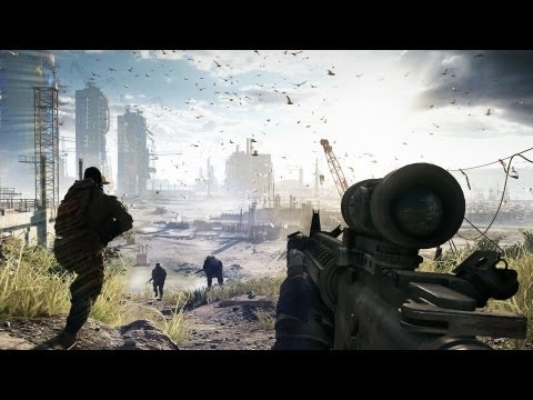 Battlefield 4: Official 17 Minutes Fishing in Baku Gameplay Reveal