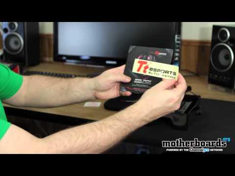 Thermaltake Black Element 6500 DPI Gaming Mouse Unboxing