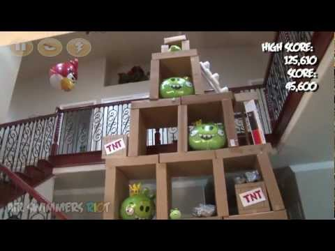 Angry Birds Air Swimmers RC RIOT!
