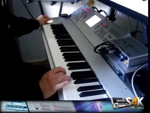 S4K Wizard Dream Ex Collect. Demo Part 1on Korg M3 M50 - Jordan Rudess ( Space4keys )
