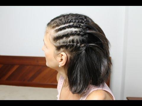 Penteado fácil para cabelo curto, médio, longo, liso, cacheado e crespo / Penteados