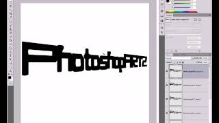 3D Text/ - Photoshop Tutorial Basic