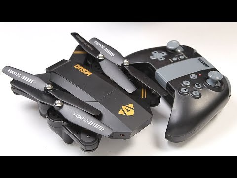 Visuo Drone XS809W TX & APP control, WiFi FPV Folding Quad-copter - UCndiA86FXfpMygSlTE2c70g