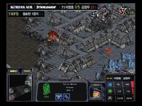 Flash vs Effort Game 1 @ Korean Air OSL Finals (Part 1)
