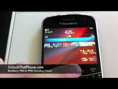 How to Unlock Blackberry Bold 9900 (9930) with Code + Full Instructions!! tmobile at&amp;t rogers bell