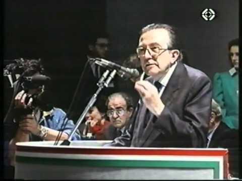 Alfredo Romano nel 1988 canta nel telegiornale della Svizzera italiana.