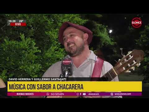 David Herrera y Guillermo Santagati a pura chacarera en vivo por Elonce TV