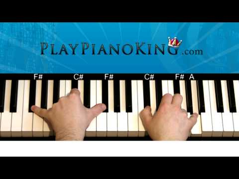 How to Play Coming Home by Diddy-Dirty Money on Piano