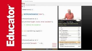 Java: Exception Handling