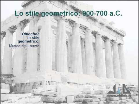 videocorso storia dell'arte greca - lez 3 - parte 2