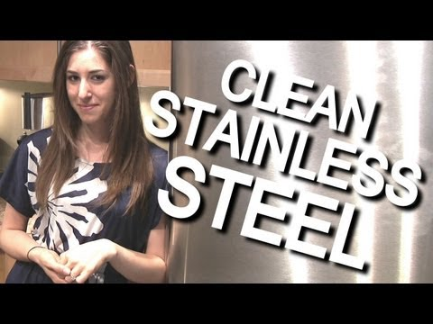 How to Clean Stainless Steel Appliances -UFvGlLRGtzU