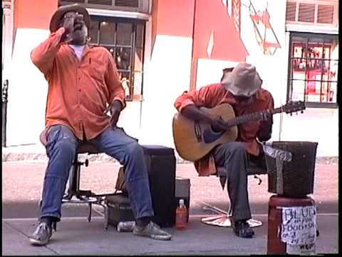 """Im a man"" (1994) Grandpa Elliott and Stoney B., New Orleans"