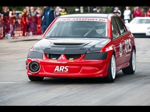 Mitsubishi Lancer Evolution ARS (1/4 mile 9.734 sec.; 1 mile 23.911 sec.)