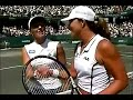 Jennifer Capriati vs Martina Hingis 2001 Charleston Highlights