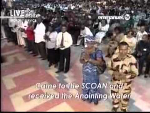 A Man Healed From Urinating Blod After Using Anointed Water - TB Joshua