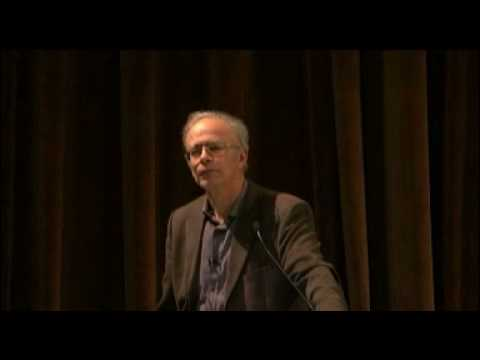 Peter Singer: The Ethics of What We Eat