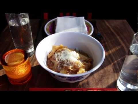 NY CHOW Report - Buttermilk Pappardelle with Smoked Goat Ragu at Fatty -Cue