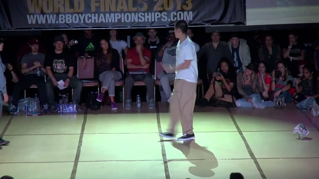 Sun vs Hoan - BBoy Championships World Finals 2013 - Popping Quarter Final